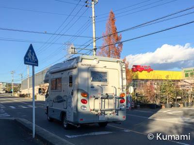 長坂IC側のホームセンター