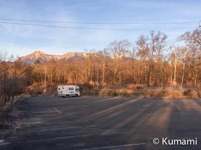 八ヶ岳ふれあい公園駐車場