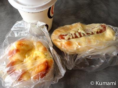 双葉SAのパン
